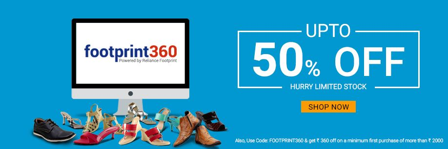 FootPrint360 Discount Coupons Codes and Offers