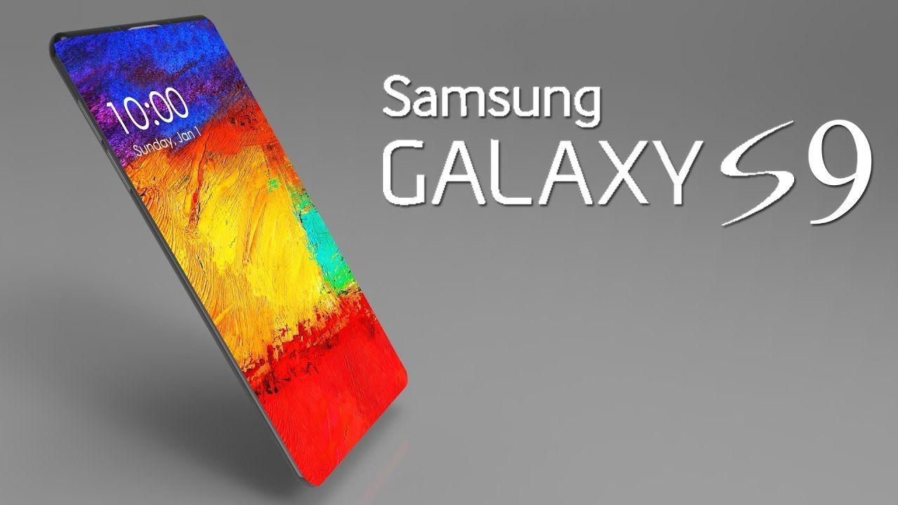 Smartphone the Samsung Galaxy S9