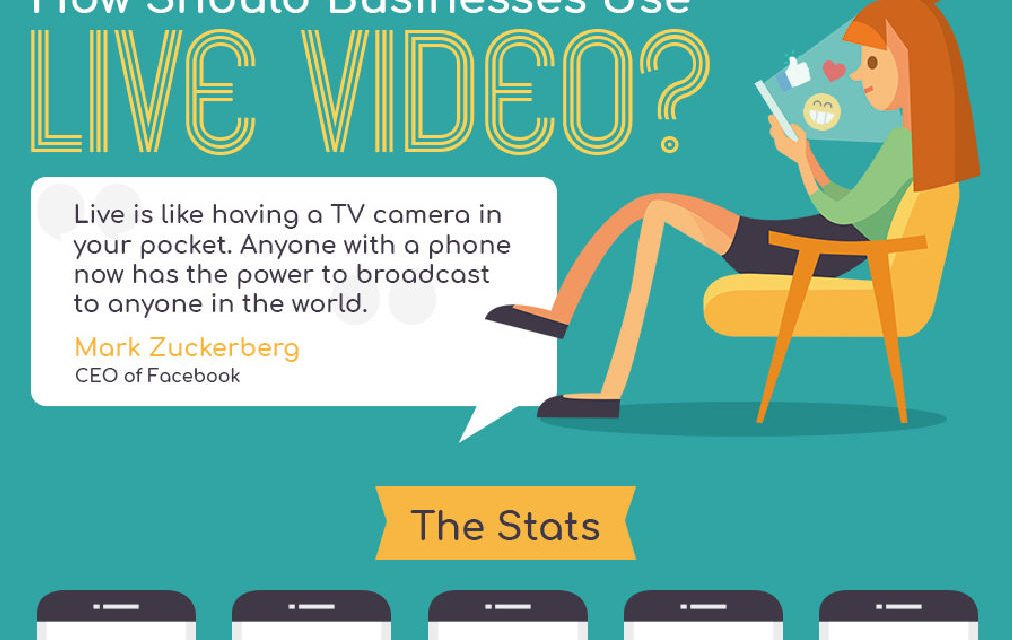 Businesses Use Live Video