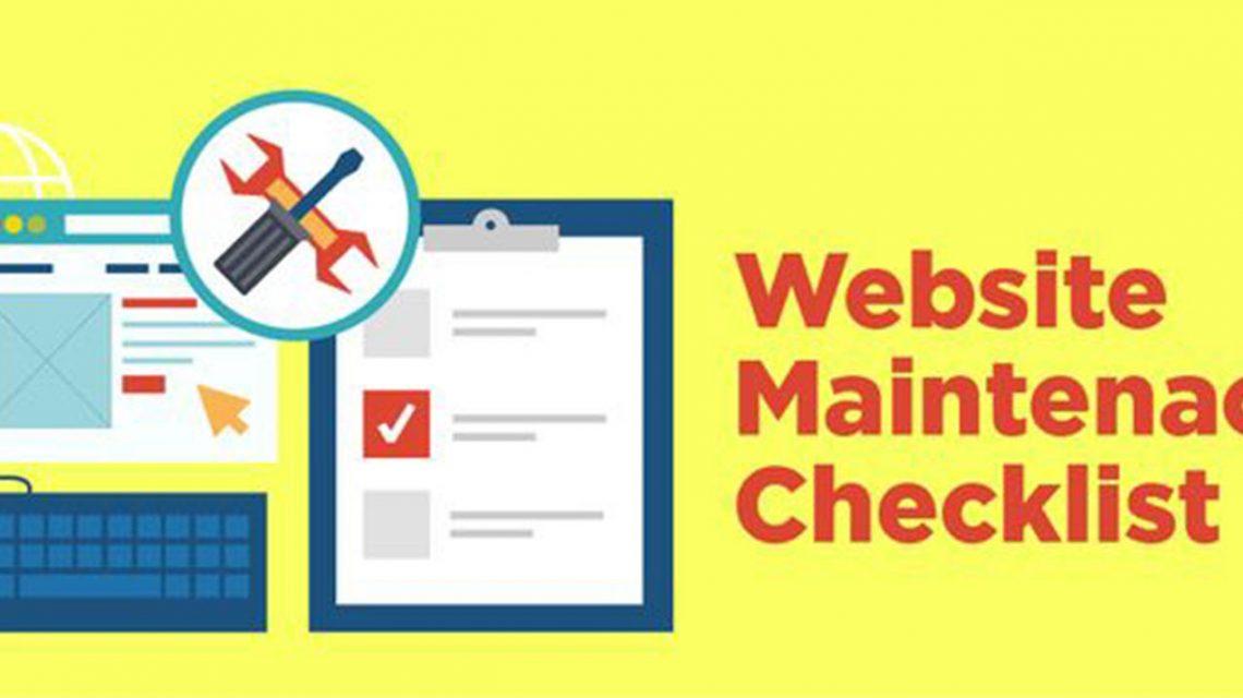 E-commerce website Maintenance