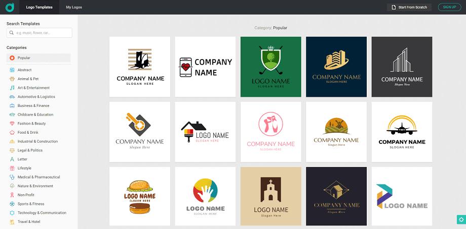 Online Logo Maker DesignEvo Review