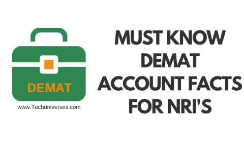 Demat Account For NRIs