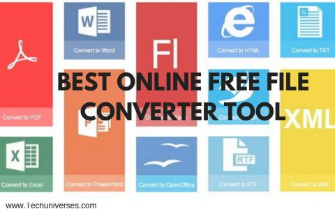 Online Free File Converter Tool